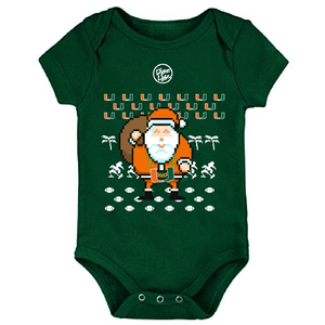Load image into Gallery viewer, TURNOVER CHAIN SANTA ONESIE
