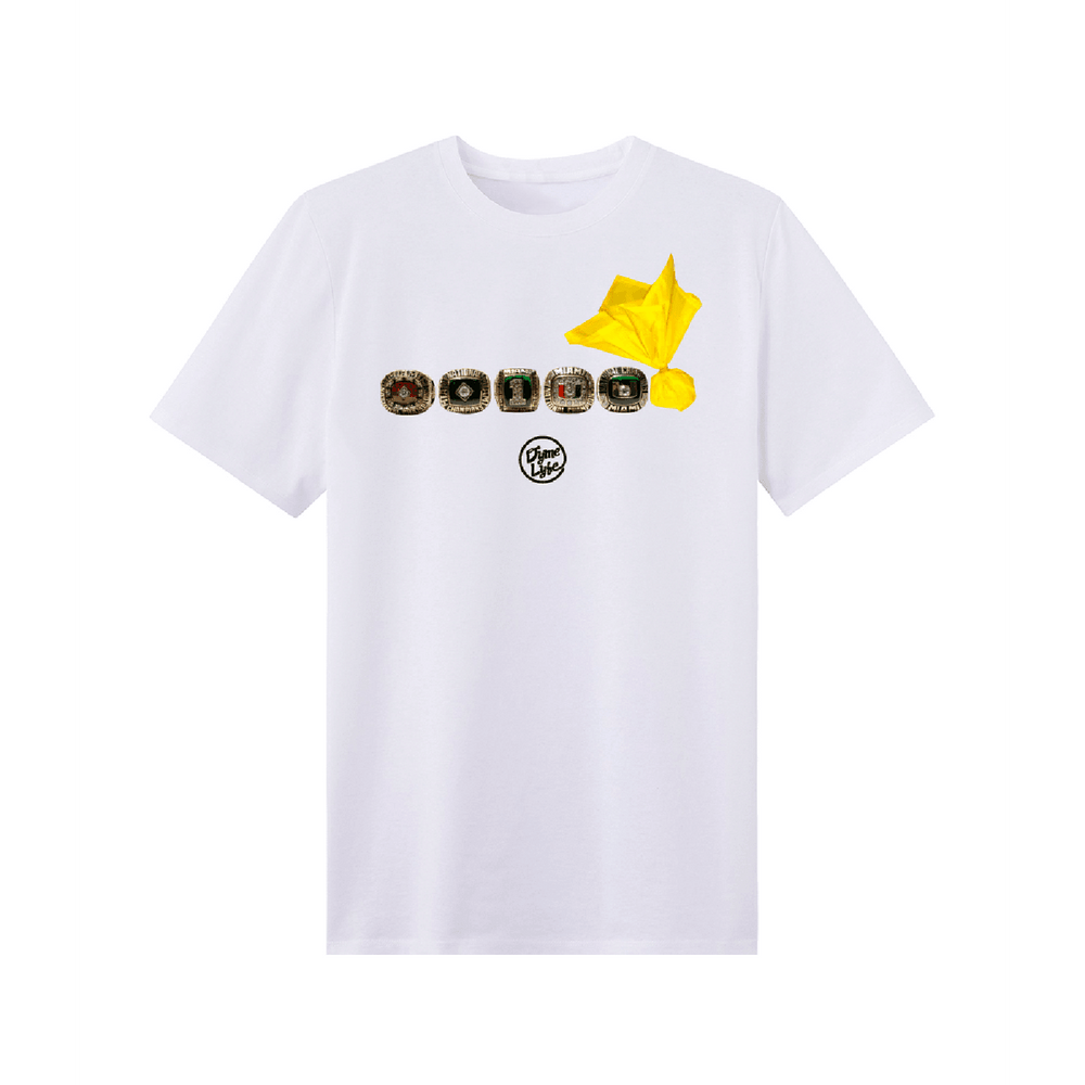 Load image into Gallery viewer, 5 RING & FLAG TEE