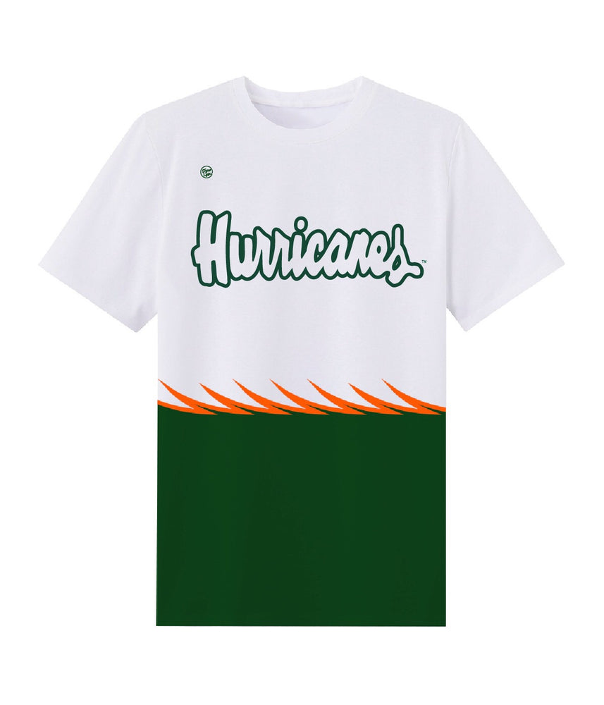 SCATTERED U - Dyme Lyfe University of Miami Apparel