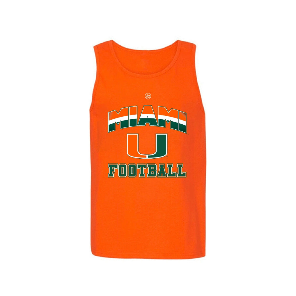 Load image into Gallery viewer, Miami U Football Tank