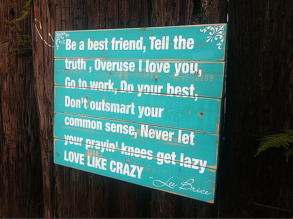 be a best friend tell the truth wall art