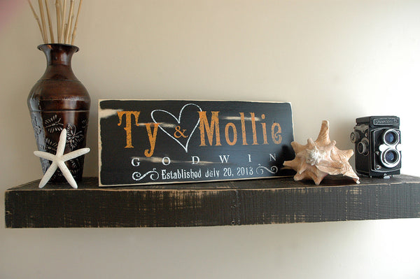 Rustic Family Wood Sign
