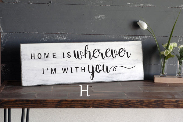 SALE! Hand Painted Decorative Wooden Signs