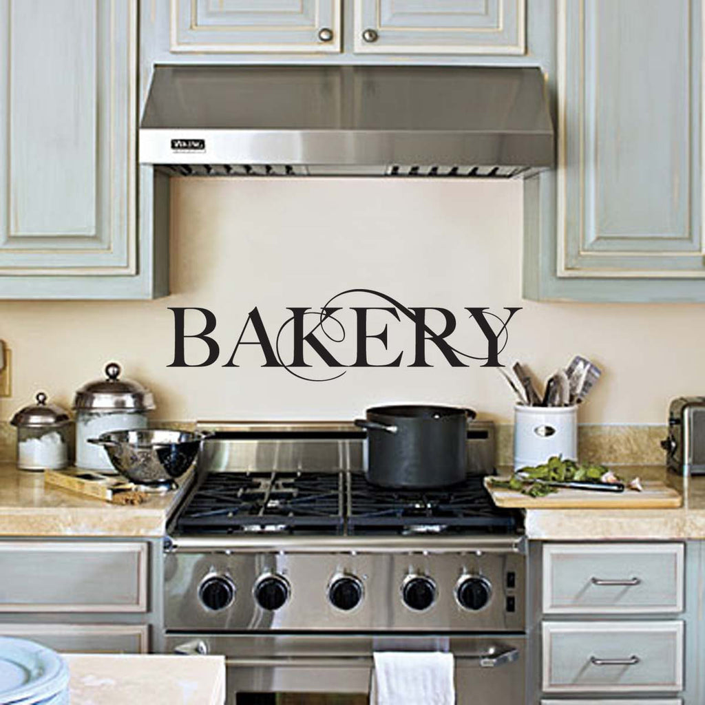 Bakery Wall Decal, Kitchen Wall Decor Wall Art Wall Sticker for the Kitchen 24x7