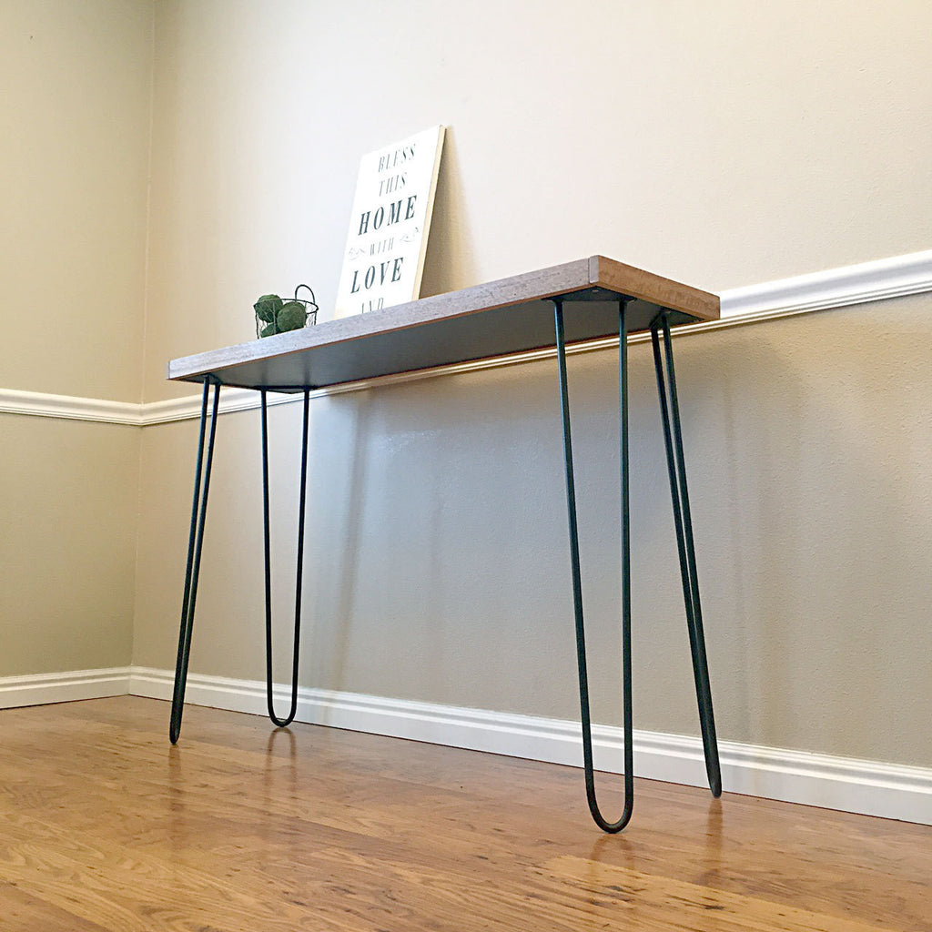 Metal Hairpin Legs for Console Tables, Coffee Tables, Benches and More!