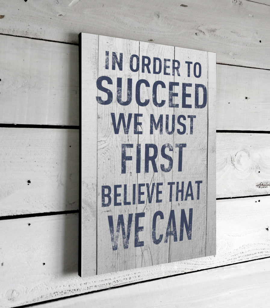 In Order To Succeed Inspirational Quotes