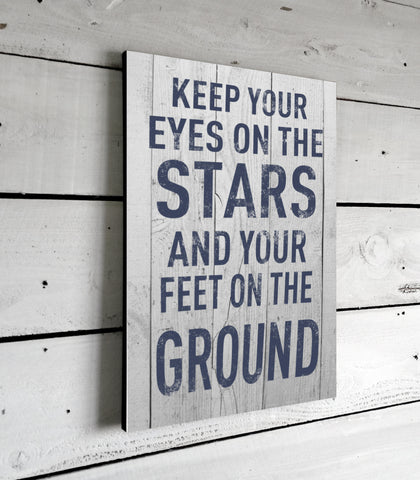Keep Your Eyes On The Stars Motivational Quotes
