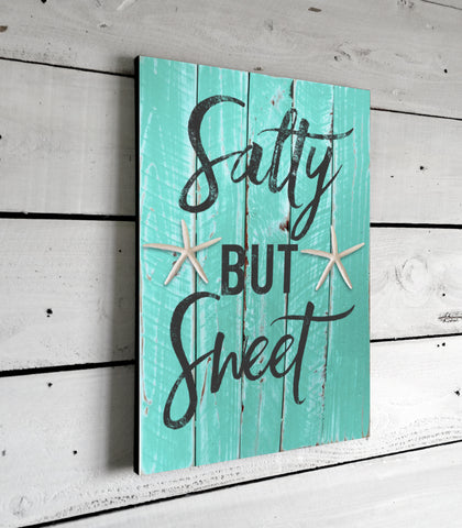 Salty But Sweet Beach House Decor