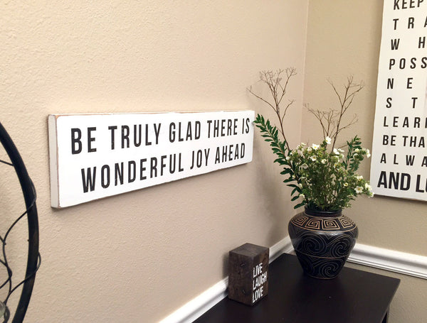 be truly glad home decor