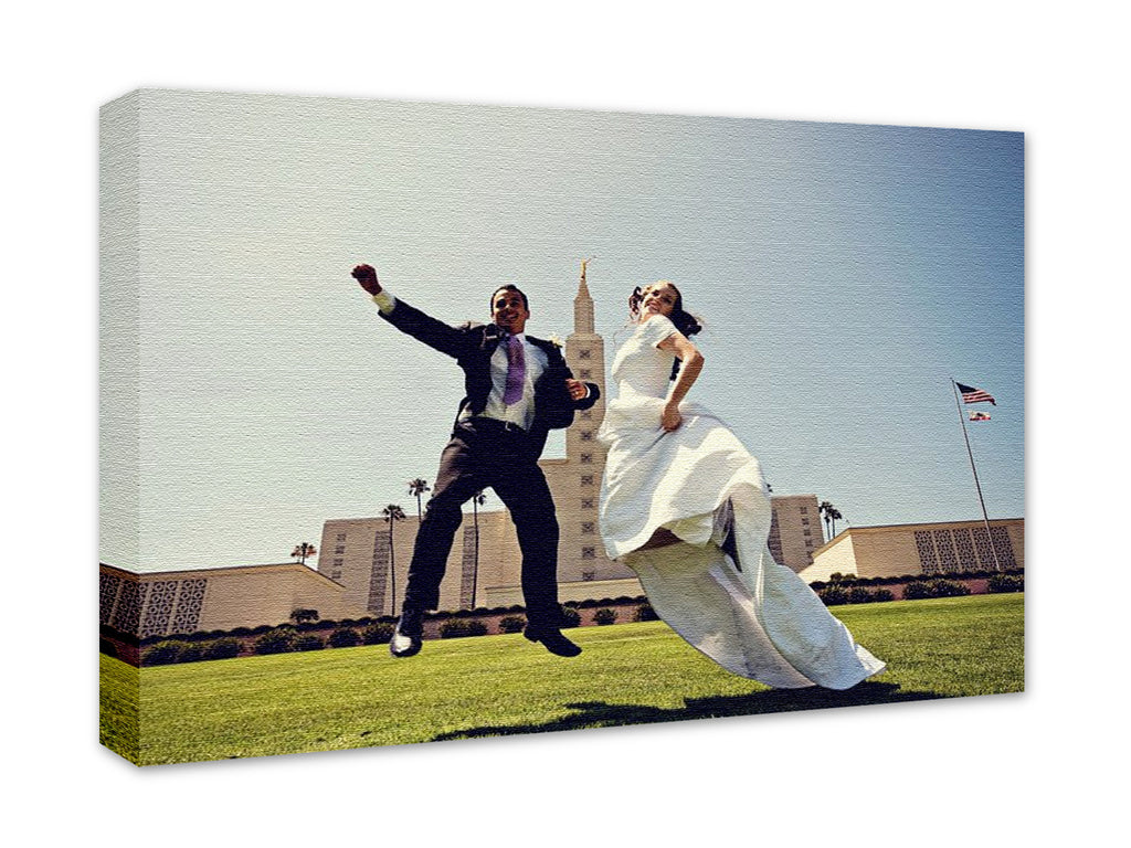 Wedding Photo Canvas Only Print 24x36