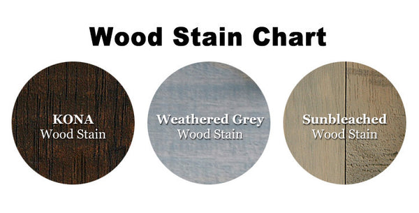 Wood Stain Color Chart