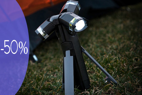 Total Torch LED-es tripod lámpa