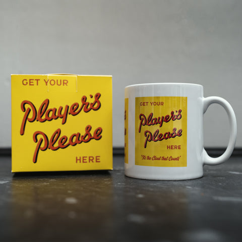 Players Please Ceramic Mug