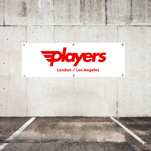 Players OG Garage Banner