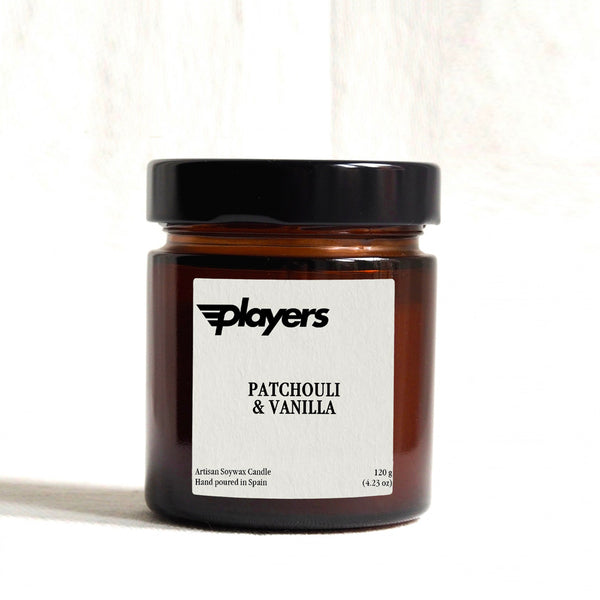 Players Artisan Candle - Patchouli & Vanilla