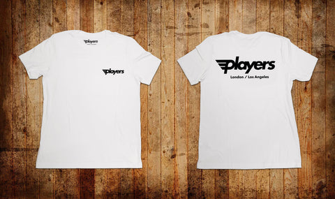 Players OG Tee White