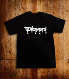 Players Sneaker Toss Black Tee