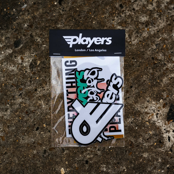 Players Sticker Pack