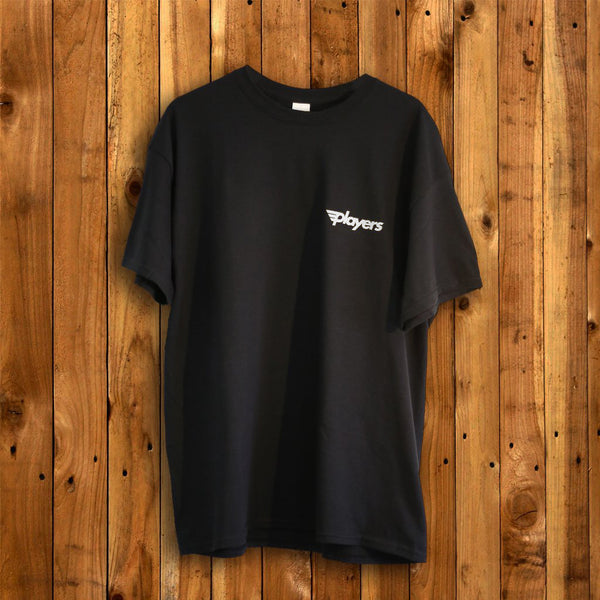 New Skool Logo Tee Black