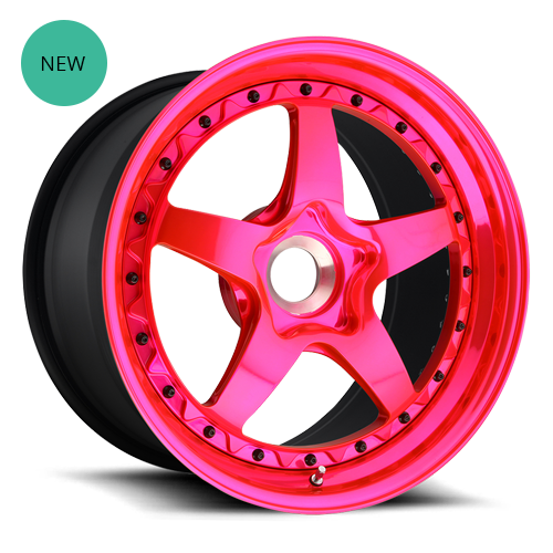 Rotiform WGR Forged Wheel - Hi Luster Trans Pink