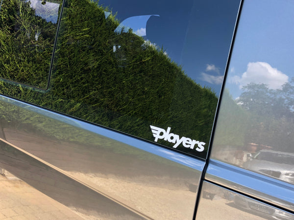Players New Skool Sticker