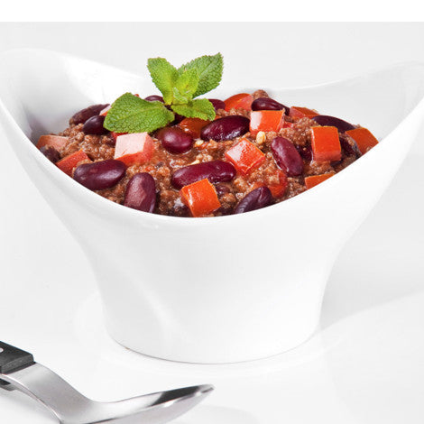 Chilli con carne with extra lean beef mince