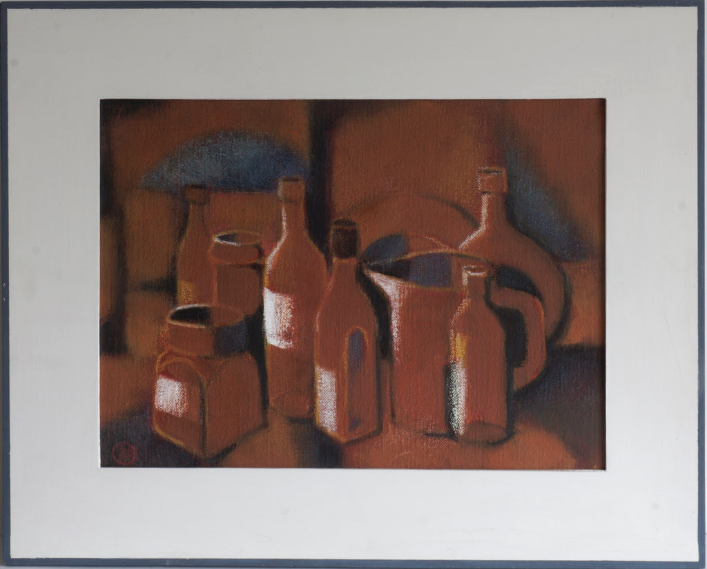 Bottles in Brown