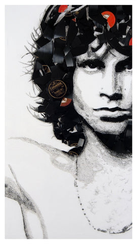 Jim Morrison by Ben Riley