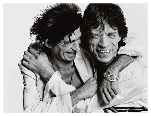 Mick & Keith by Paul Stowe