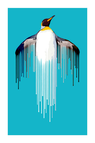 Penguin - Ice by Carl Moore
