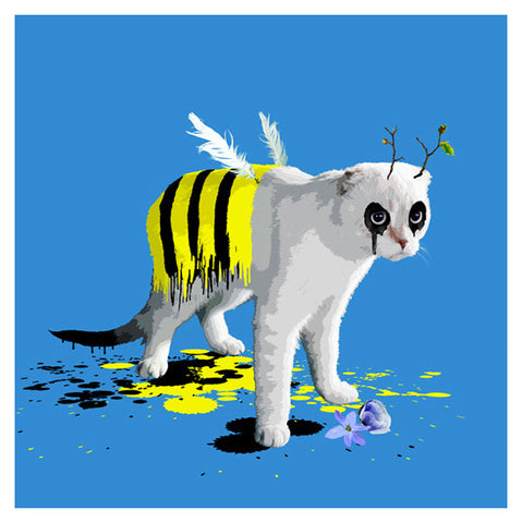 The Cat who wanted to be a Bee by Carl Moore