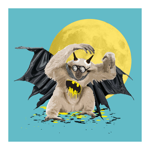 The Gibbon Who Wanted to be Batman by Carl Moore