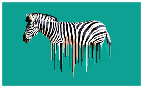 Zebra Green by Carl Moore
