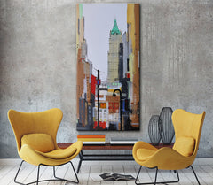 Grand Street, Chrysler Building by Irina