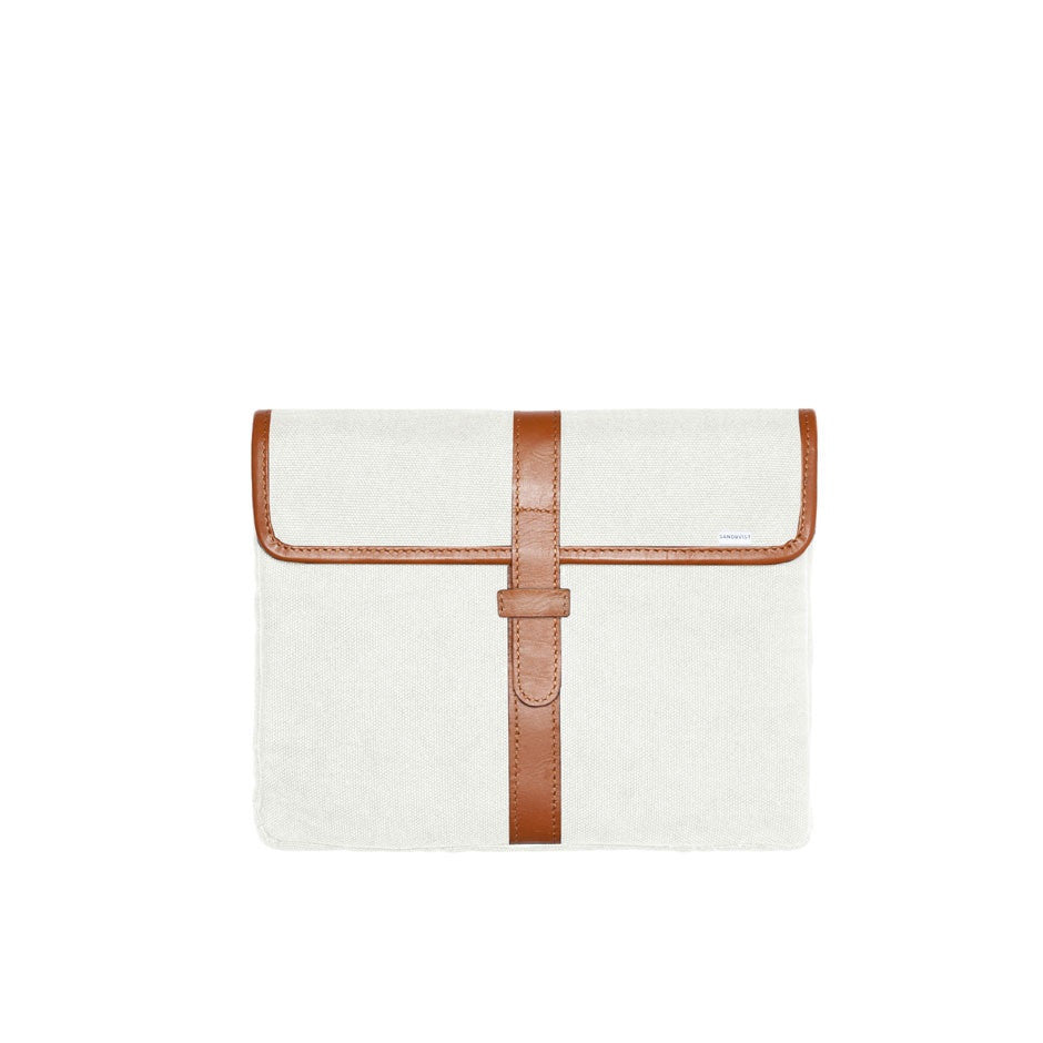 Pascal iPad Case White