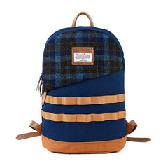 Harris Tweed Daypack Blue
