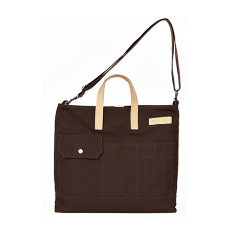 Tote+Cross Brown