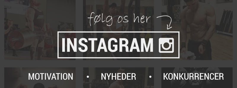 Følg os på instagram - Power Addict