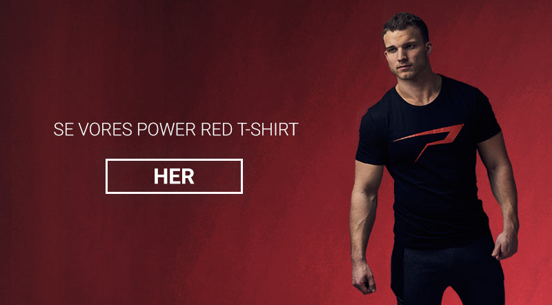 Power red tee - Power Addict