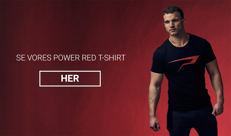 Se vores power red t-shirt