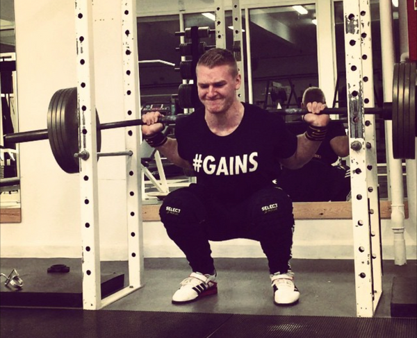 Squat power addict #gains