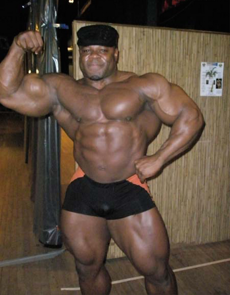 Kai Greene bodybuilder offseason