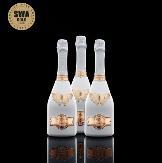 Angel Champagne NV Rosé Magnum ( Case of 3 x 1.5L )