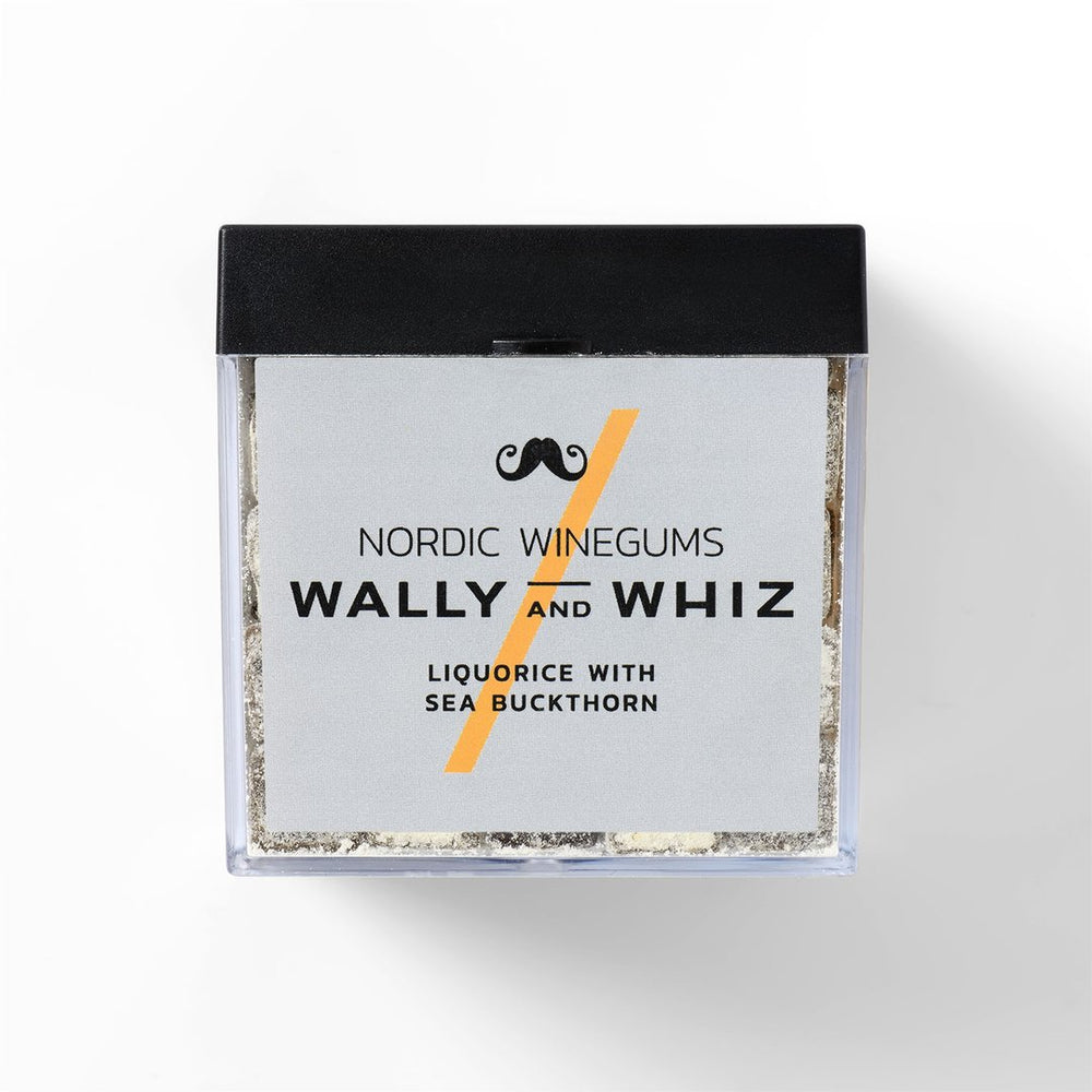 Wally and Whiz - Lakrids med Havtorn 140 gram