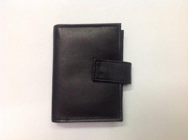 Black leather wallet misc