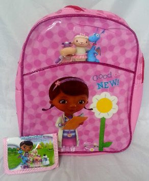 Doc McStuffins Disney Backpack