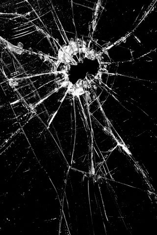 Broken-Glass-With-Gunshot-iPhone-Wallpaper-Download