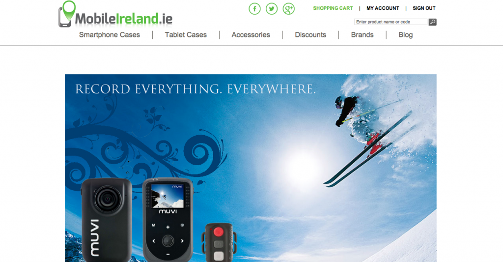 mobile ireland homepage gadgets