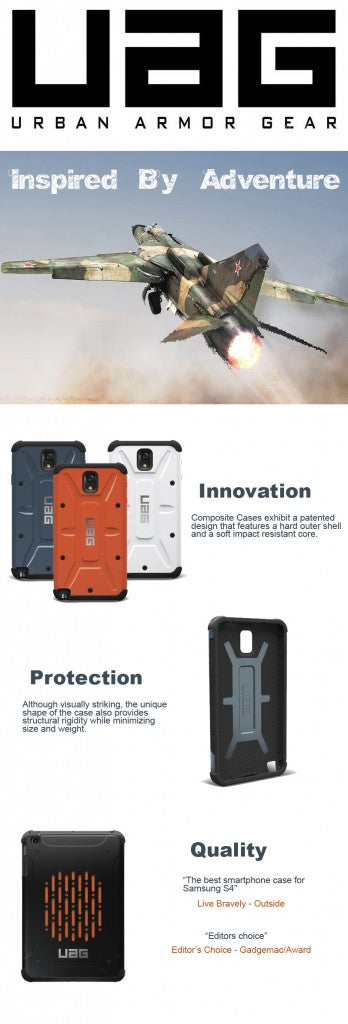 urban armor gear cases