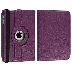iPad 360 Rotating Case - Purple | Free Shipping
